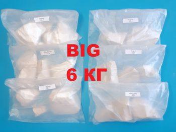 Набор мела BIG (Пробник 6 сортов по 1 кг каждого)